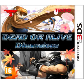 Dead or Alive Dimensions 3DS (UK)