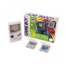 Game Boy Clasica Star Pack Tetris Super Mario Land A