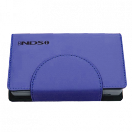 Compact Pocket with Stand Metallic Blue Dragon NDSi
