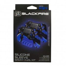 Pack Dual Funda silicona BLACKFIRE® Gamer Kit