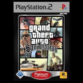 GTA San Andreas Platinum PS2 (SP)