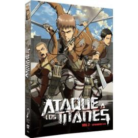 Ataque a los Titanes Temporada 1 Volumen 2 DVD