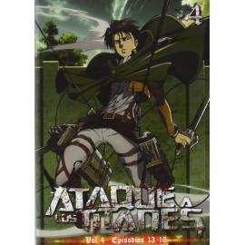 Ataque a los Titanes Temporada 1 Volumen 4 DVD
