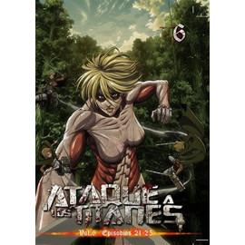 Ataque a los Titanes Temporada 1 Volumen 6 DVD