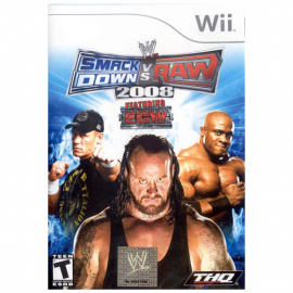 WWE SmackDown vs. Raw 2008 Wii (SP)