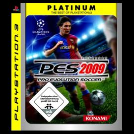 PES 2009 Platinum PS3 (SP)