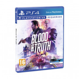Blood & Truth VR PS4 (SP)