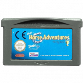 Barbie Horse Adventures The Big Race GBA