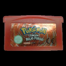 Pokemon Edicion Rojo Fuego GBA