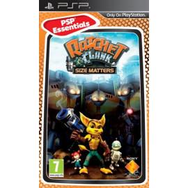 Ratchet & Clank: El Tamaño Importa Platinum PSP (UK)