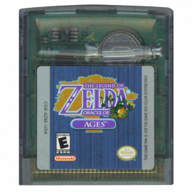 The Legend of Zelda Oracle of Ages GBC