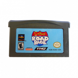 The Simpsons Road Rage GBA