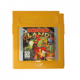 Donkey Kong Land II GB