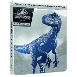 Jurassic World 2 El Reino Caido Ed.Especial Metal 4K + BluRay (SP)