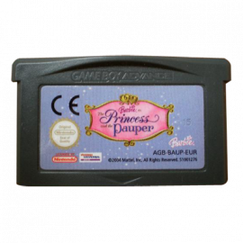 Barbie The princess and the pauper GBA