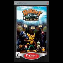 Ratchet & Clank: El Tamaño Importa Platinum PSP (SP)