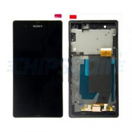 Display Completo con marco Gris Sony Xperia XA