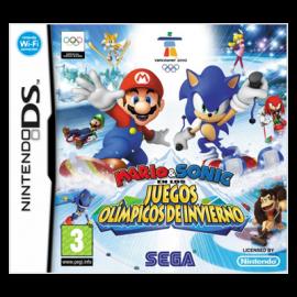 Mario y Sonic en los juegos olimpicos de invierno DS (SP)