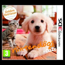 Nintendogs + Gatos: Golden Retriever 3DS (SP)