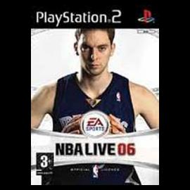 NBA Live 06 PS2 (SP)