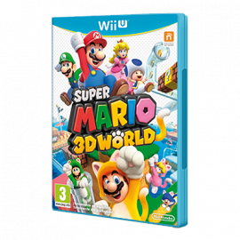 Super Mario 3D World Wii U (SP)