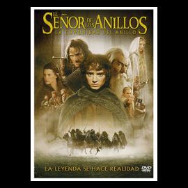 El Señor de los Anillos La Comunidad del Anillo DVD
