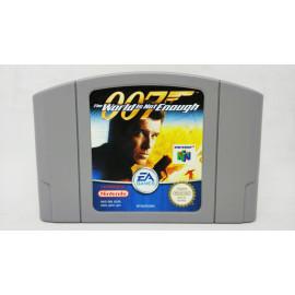 007 El Mundo Nunca es Suficiente N64