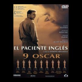 El paciente ingles DVD