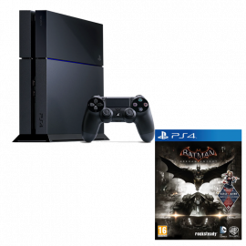 Pack: PS4 500GB + Dual Shock 4 + Batman Arkham Knight PS4