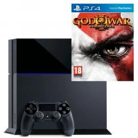 Pack: PS4 1 TB + Dual Shock 4 + God of War III