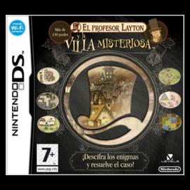 El Profesor Layton y la Villa Misteriosa DS (SP)