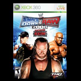 WWE SmackDown vs, Raw 2008 Xbox360 (SP)