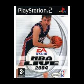 NBA Live 04 PS2 (SP)