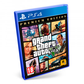 Grand Theft Auto V Premium Edition PS4 (SP)