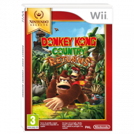 Donkey Kong Country Returns Nintendo Selects Wii (SP)