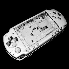 Carcasa Completa Plata PSP 3000