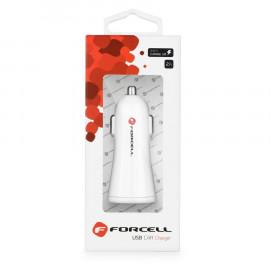 Cargador de Coche Forcell con Conector USB 2A Quick Charge 3.0
