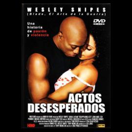 Actos Desesperados DVD