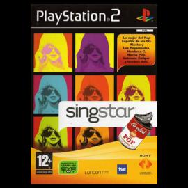 Singstar la Edad de Oro del Pop Español PS2 (SP)