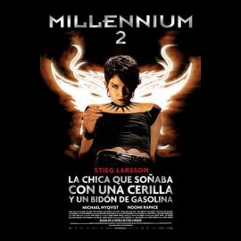 Millennium 2 La Niña que Soñaba con una Cerilla y un Bidon de Gasolina DVD