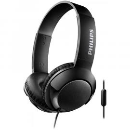 Auriculares con Microfono Philips Bass+ SHL3075BK Negro