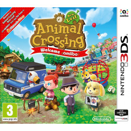 Animal Crossing New Leaf Wellcome Amiibo 3DS (SP)