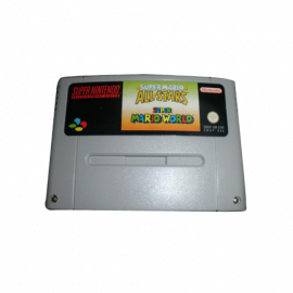 Super Mario All Star + Super Mario World SNES