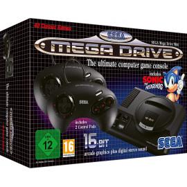 Sega Megadrive Mini Negra
