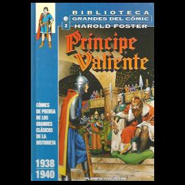 Comic Biblioteca grandes del comic: Principe Valiente Planeta 02