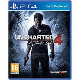 Uncharted 4: El Desenlace Del Ladrón PS4 (UK)