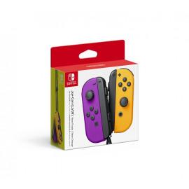 Joy-Con Set Izqda/Derecha Morado/Naranja Neon Nintendo Switch