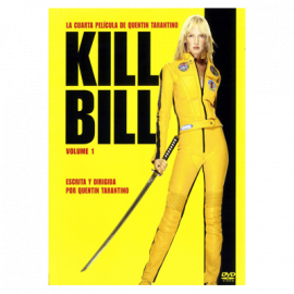 Kill Bill Vol 1 DVD