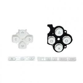 Botones de repuesto White PSP 3000