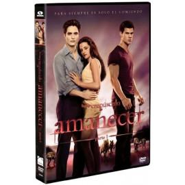Crepusculo: Amanecer Parte 1 DVD